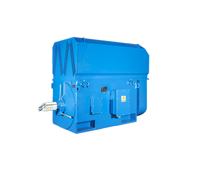 Fabricated steel plate frame MV 3 phase asynchronous motor