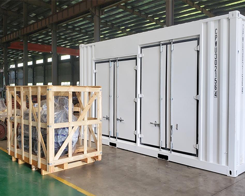 Container-based Integrated Inverter Unit