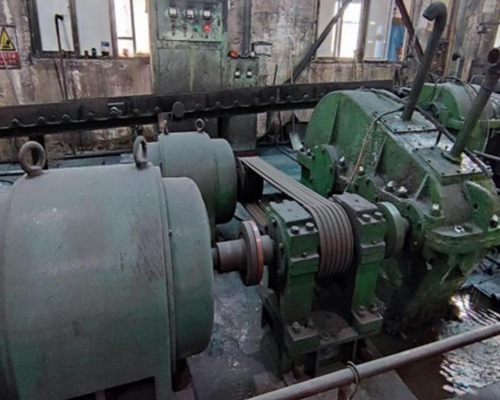 The application of PMSM motor in Steel Tube Manufacturing Company